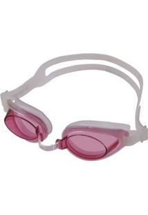 Óculos De Natação Poker Aruba Extra Rosa