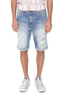 Bermuda Jeans John John Reta Patmos Azul