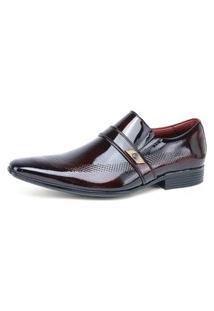Sapato Social Gofer Vermelho