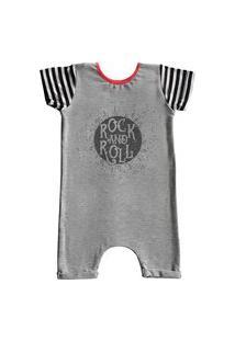 Pijama Curto Comfy Rock