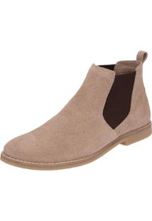 Bota Dr Shoes Casual Bege - Kanui