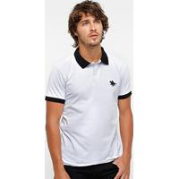 Camisa Polo Rg 518 Maquinetada Poa Bordada Masculina - Masculino e5d8e873ad66a