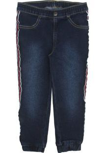 Calça Jeans Hering Kids Infantil Elástico Azul
