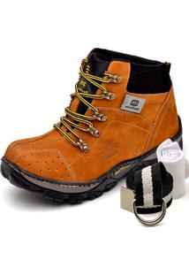 Bota Dexshoes Kit Adventure Caramelo