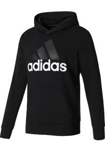 9cd1e5b7c8 Blusa Moletom Adidas Essentials Linear Po Ft