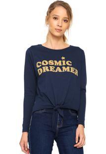 Camiseta Fiveblu Cosmic Azul-Marinho