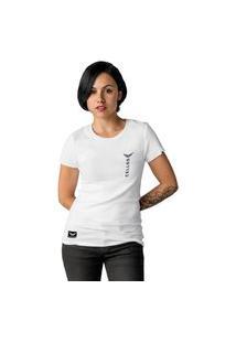Camiseta Feminina Cellos Vertical Premium W Branco