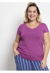 Camiseta Lisa- Roxamelinde