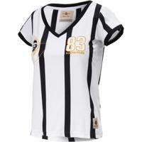 Camisa Baby Look Retrô Gol Away Sócrates Ex-Corinthians Feminina - Feminino edf72b375ec00