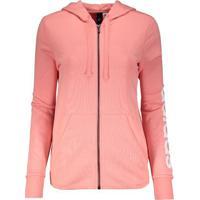 Fut Fanatics. Jaqueta Adidas Linear Essentials Com Capuz Feminina 6f3d36f9763f6