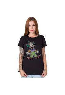 Camiseta Krusty Preto