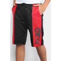 1577757f11 Bermudas Esportivas Estampada Vermelha | Shoes4you