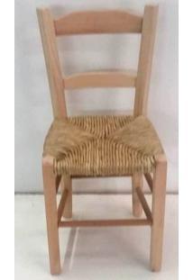 Cadeira Lagiana Eucalipto Cru Assento De Palha - 26655 - Sun House