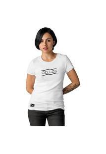 Camiseta Feminina Cellos Representation Premium W Branco