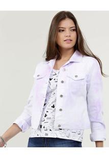 Jaqueta Feminina Sarja Estampa Tie Dye Marisa