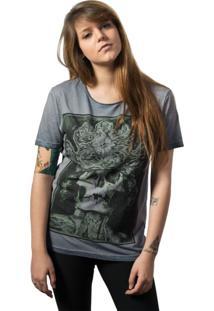 Camiseta Skull Lab King Azul