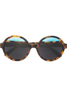 Óculos De Sol Italia Independent Marrom feminino   Shoes4you ea60bb6a3f