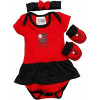 Conjunto Torcida Baby Flamengo 033B - Feminino 8d44738669324
