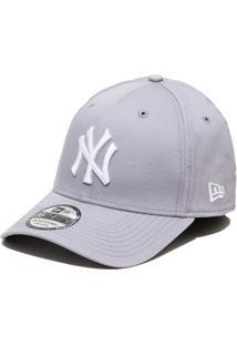 f9def6b05f323 Boné New Era Aba Curva Fechado Mlb Ny Yankees Colo - Unissex-Cinza