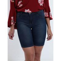 2cefae421 Bermuda Cos Alto Jeans feminina | Shoes4you