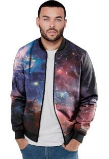 Jaqueta Bomber Chess Clothing Galaxy