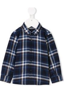 Il Gufo Camisa Xadrez - Azul