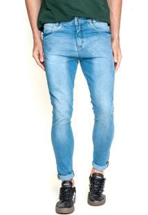 Calça Lemier Jeans Collection Slim Fit Azul