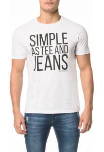 Camiseta Ckj Mc Simple As Tee And Jeans - P