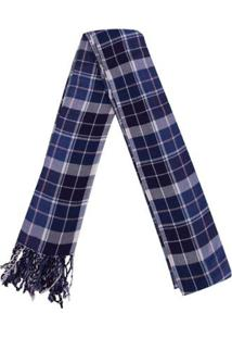 Cachecol Columbia Wintertide Scarf - Unissex-Azul+Bege