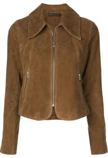 Citizens Of Humanity Iona Cropped Jacket - Marrom