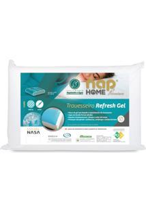 Travesseiro Nasa Refresh Gel Nap Premium Capa Impermeável