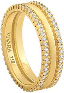 Aliança Noiva Ouro Amarelo E Diamantes