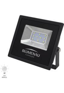 Refletor Led Slim 10W Bivolt Branco Frio 6000K - 74106000 - Blumenau - Blumenau