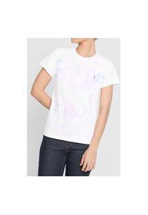 Camiseta Polo Ralph Lauren Tie Dye Branca