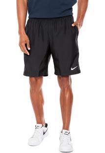 Short Nike Dry 9In Preto