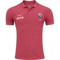 7dedf01e7f Camisa Topper Polo Viagem Vitória Masculina - Masculino