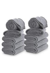 Cobertor Casal Com 10 Peças 160X190Cm Corta Febre Popular Doaçáo - Emcompre