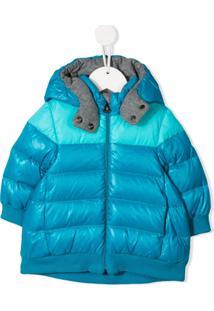 Moncler Kids Padded Coat - Azul