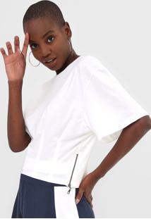 Camiseta Forum Pregas Off-White