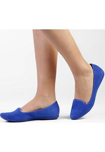 Slipper Bottero Furadinho - Feminino-Azul
