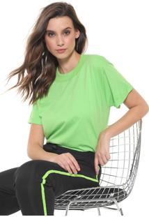 Camiseta Colcci Neon Verde