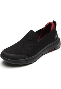 Slipper Skechers Go Walk 5-Prized Preto