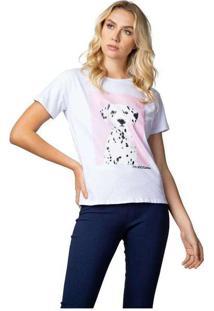 Camiseta Masculina Dalmata Branco