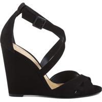 00fa1f856 Anabela Fivela Sintetica feminina   Shoes4you