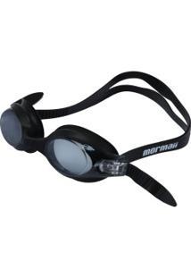 Óculos De Natação Mormaii Ventus - Adulto - Preto/Cinza Esc