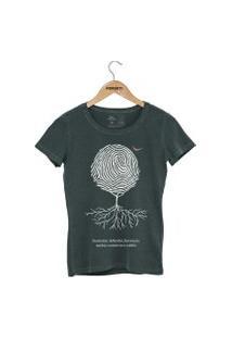 Camiseta Forseti Estonada Digital Verde