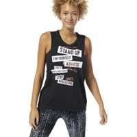 b6774f33cae Camiseta Regata Reebok Stop Apologizing Feminina - Feminino