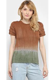 Camiseta Il Shin Tie Dye Feminina - Feminino