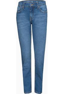 Calça Jeans Infantil Masculina Skinny Cintura Média Azul Médio Calvin Klein - 8