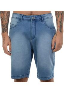 Bermuda Jeans Hang Loose Clear - Azul Claro / 38